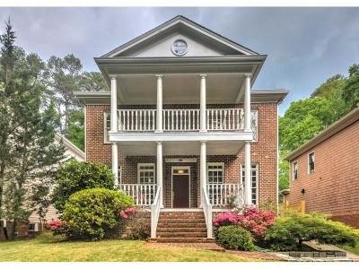Single Family Home For Sale: 665 Norfleet Road NW