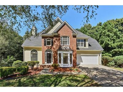 Kennesaw Single Family Home For Sale: 2515 Hollindale Lane NW