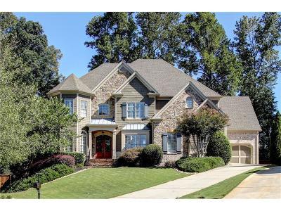 Marietta Single Family Home For Sale: 4412 Chapel Grove Lane