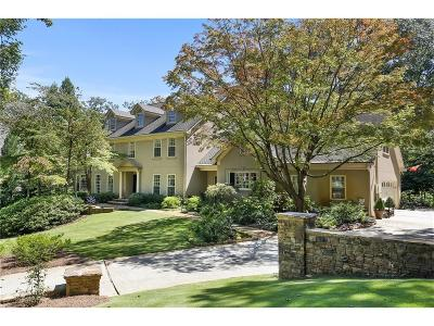 Marietta GA Single Family Home For Sale: $2,250,000