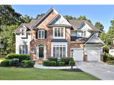 Kennesaw Single Family Home For Sale: 2653 Morningside Trail NW