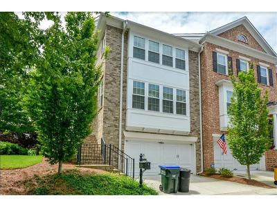 Roswell Condo/Townhouse For Sale: 7201 Lowery Oak Drive #7201