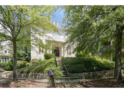 Kennesaw Single Family Home For Sale: 1466 Hedgewood Lane NW