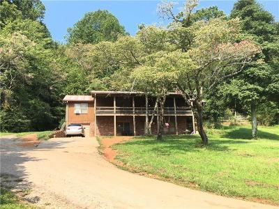 Dawsonville Single Family Home For Sale: 8565 Elliott Family Parkway