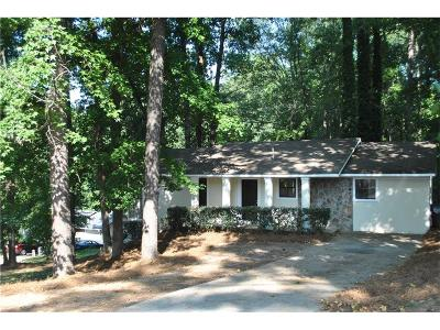 Norcross Single Family Home For Sale: 1548 Hoy Taylor Drive