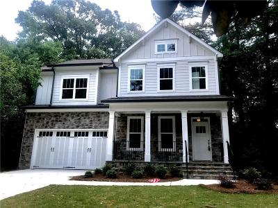 Atlanta GA Single Family Home For Sale: $779,000