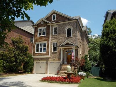 Brookhaven Single Family Home For Sale: 1278 Windsor Parkway
