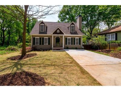 Atlanta Single Family Home For Sale: 1579 McPherson Avenue SE