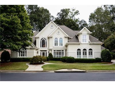 Alpharetta, Atlanta, Dunwoody, Johns Creek, Milton, Roswell, Sandy Springs Single Family Home For Sale: 9025 Etching Overlook