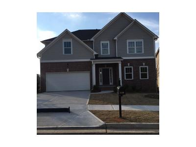 Holly Springs Single Family Home For Sale: 338 Reserve Overlook