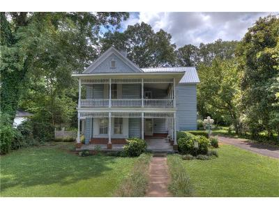 Adairsville Single Family Home For Sale: 110 Summer Street