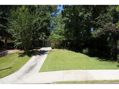 Brookhaven Single Family Home For Sale: 1508 Bubbling Creek Road NE