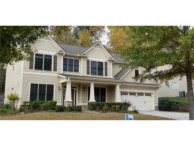 Suwanee Single Family Home For Sale: 169 Park Pointe Way