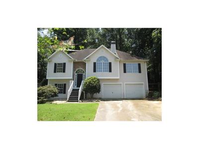 Acworth Single Family Home For Sale: 3801 Autumn View Lane NW