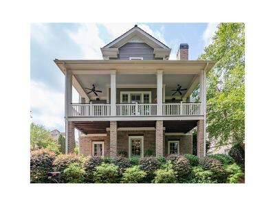 Cumming Single Family Home For Sale: 6705 Pond Road