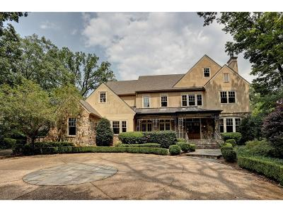 Tuxedo Park, Tuxedo Park Buckhead Single Family Home For Sale: 59 Blackland Road NW