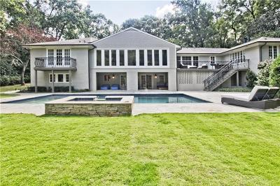 Tuxedo Park, Tuxedo Park Buckhead Single Family Home For Sale: 539 W Paces Ferry Road NW