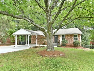 Brookhaven Single Family Home For Sale: 2729 Drew Valley Road