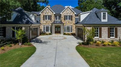 Sandy Springs Single Family Home For Sale: 4685 Lake Forrest Drive