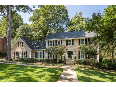 Dunwoody Single Family Home For Sale: 5282 Forest Springs Drive