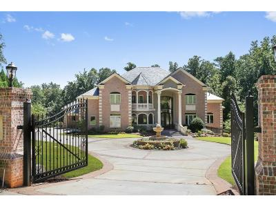Sandy Springs GA Single Family Home For Sale: $2,199,000