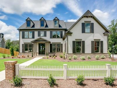 Cumming Single Family Home For Sale: 3785 Williams Point Drive