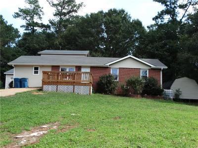 Winder Single Family Home For Sale: 1153 Carl Bethlehem Road