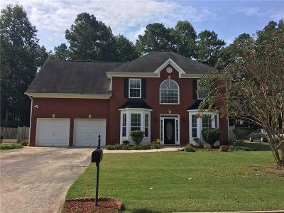 Powder Springs Single Family Home For Sale: 5113 Heritage Oaks Lane SW