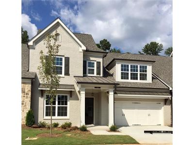 Marietta Condo/Townhouse For Sale: 3495 Oakshire Drive