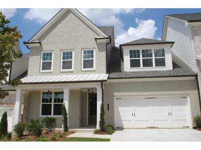 Alpharetta GA Condo/Townhouse For Sale: $561,500