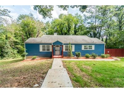 Single Family Home For Sale: 3081 Mount Gilead Road SW