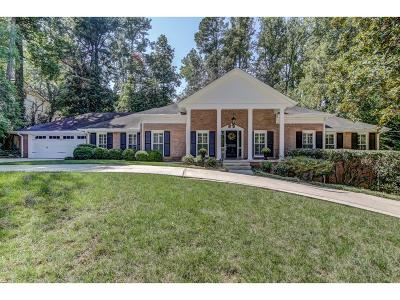 Single Family Home For Sale: 4694 Tall Pines Drive NW