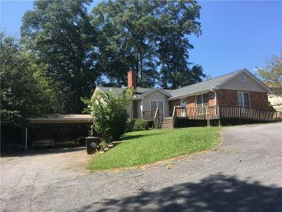 Cartersville Single Family Home For Sale: 1008 N Tennessee Street