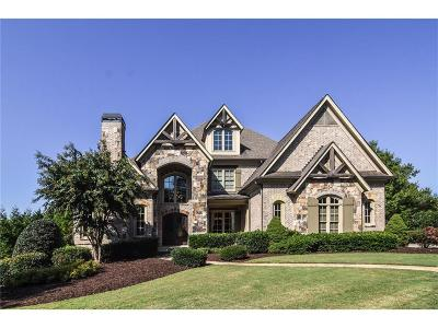 Milton  Single Family Home For Sale: 120 Manor Lake Court