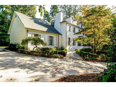 Sandy Springs Single Family Home For Sale: 325 Kelson Drive