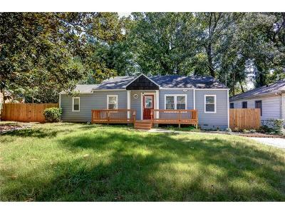 Single Family Home For Sale: 1360 Westmont Road SW