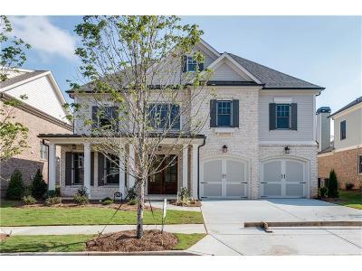 Alpharetta Single Family Home For Sale: 12875 Cogburn Overlook