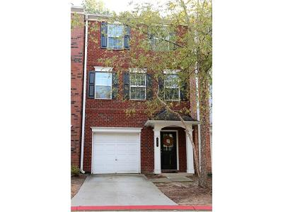 Kennesaw Condo/Townhouse For Sale: 393 Heritage Park Trace NW #3