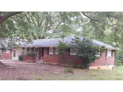 Single Family Home For Sale: 1896 Derrill Drive