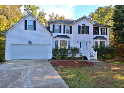 Loganville Single Family Home For Sale: 2255 Rosewood Mill Court