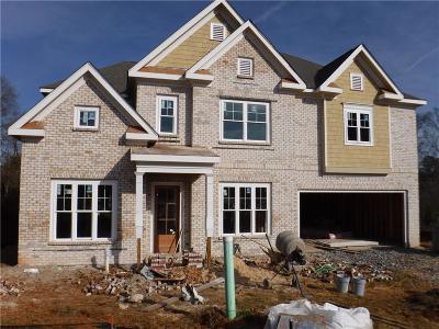 Alpharetta GA Single Family Home For Sale: $640,900