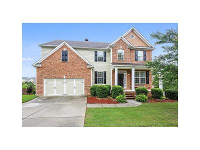 Braselton Single Family Home For Sale: 1813 Madrid Falls Drive