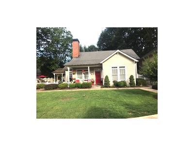 Marietta Single Family Home For Sale: 247 Chicopee Drive NE