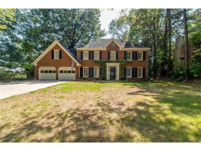 Roswell Single Family Home For Sale: 4600 Gilhams Road NE