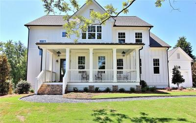 Roswell GA Single Family Home For Sale: $860,000