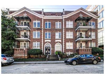 Atlanta Condo/Townhouse For Sale: 61 16th Street NE #3