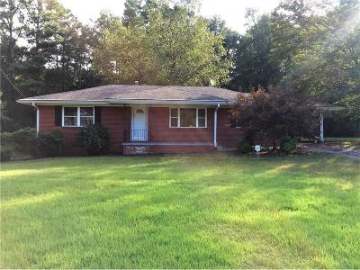 Douglasville Single Family Home For Sale: 4341 W Linda Drive