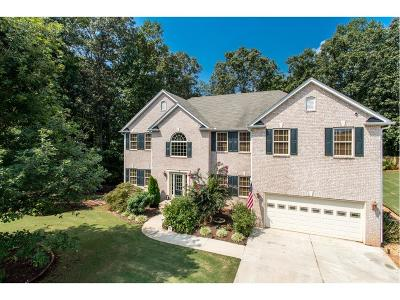 Flowery Branch Single Family Home For Sale: 5732 Pleasant Woods Drive
