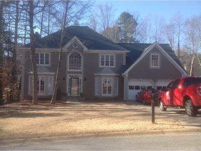 Acworth Single Family Home For Sale: 578 Delphinium Boulevard NW