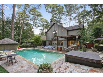 Single Family Home For Sale: 1855 Moores Mill Road NW